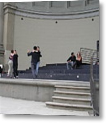 Dancing In Golden Gate Park Metal Print by Cynthia Marcopulos