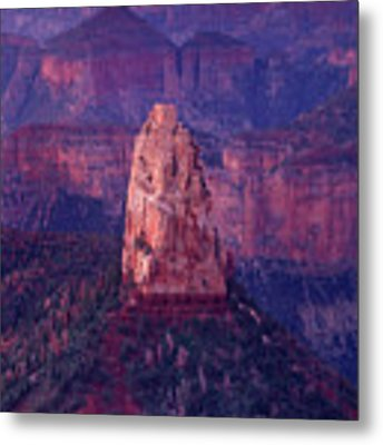 Dawn Mount Hayden Point Imperial North Rim Grand Canyon National Park Arizona Metal Print by Dave Welling