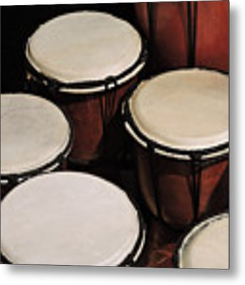 Djembe Metal Print by Grace Dillon