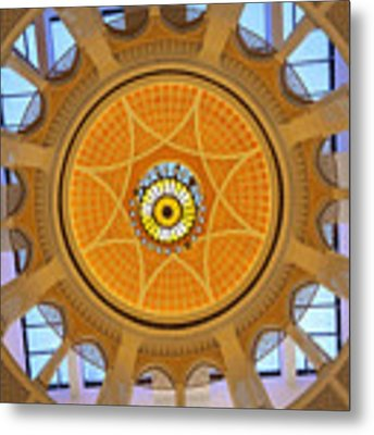 Dubai Mall Dome  Metal Print by Juergen Held