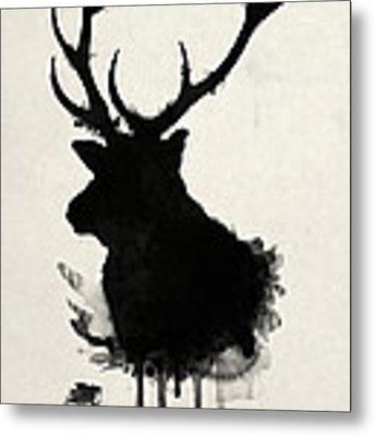 Elk Metal Print by Nicklas Gustafsson