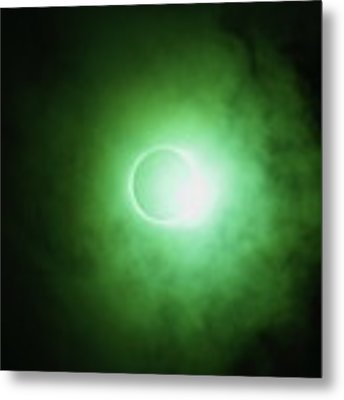 End Of Totality Metal Print by Daniel Reed