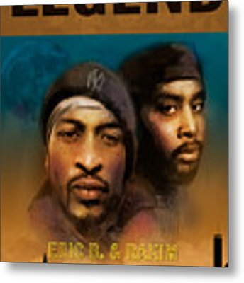 Eric B. And Rakim Metal Print by Dwayne Glapion