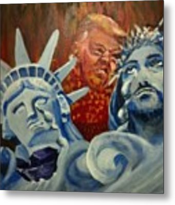 Escape On Tears Of Love And Liberty Metal Print by Saundra Johnson