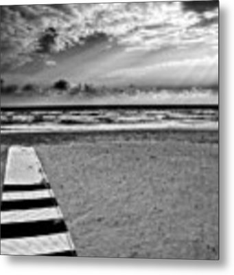 Evening Tide Metal Print by Silvia Ganora