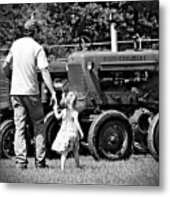 Father/daughter Day Metal Print by Rick Morgan