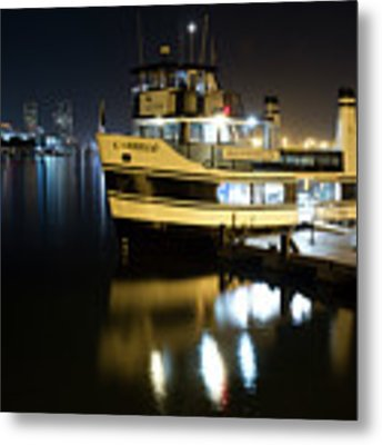 Ferry To Broadway Pier Metal Print by Nathan Rupert