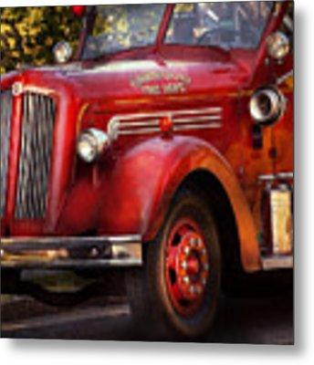 Fireman - The Garwood Fire Dept Metal Print