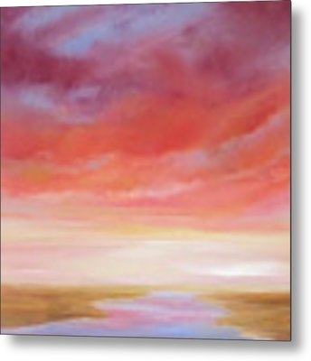 First Blush By V.kelly Metal Print by Valerie Anne Kelly