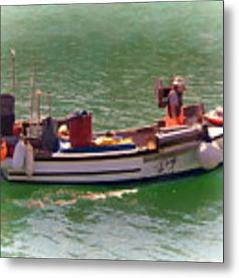 Fishing Vessel  Metal Print by Paul Gulliver