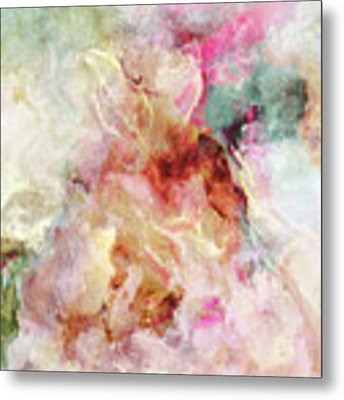 Floral Wings - Abstract Art Metal Print by Jaison Cianelli