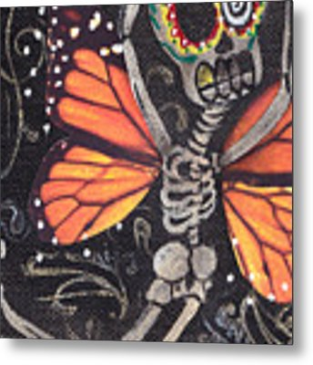 Flying Away Metal Print by Abril Andrade Griffith