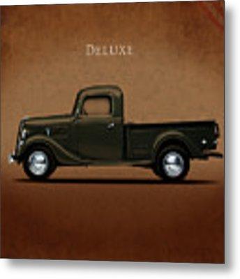 Ford Deluxe Pickup 1937 Metal Print