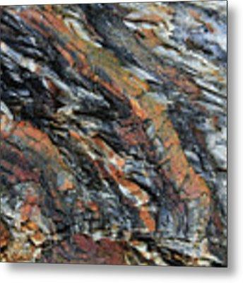 Geologica II Metal Print by Julian Perry