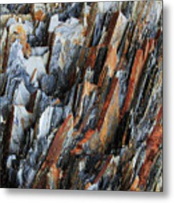 Geologica IIi Metal Print by Julian Perry