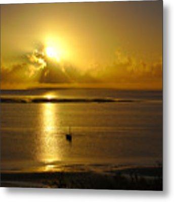 Golden Sunrise Metal Print by Jeremy Hayden