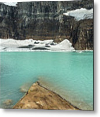 Grinnell And Salamander Glaciers Metal Print by Jemmy Archer