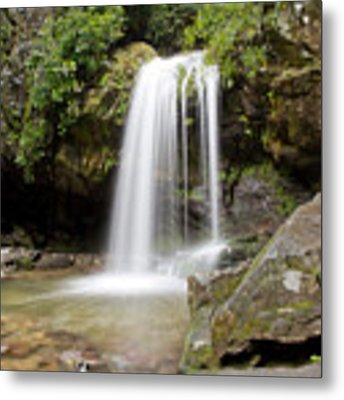 Grotto Falls Great Smoky Mountains Metal Print by Jemmy Archer