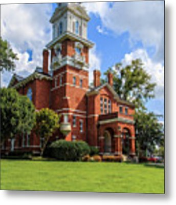 Gwinnett County Historic Courthouse Metal Print by Doug Camara