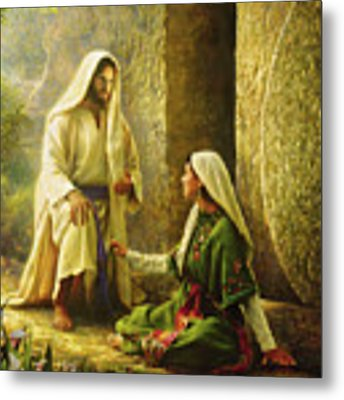 He Is Risen Metal Print by Greg Olsen