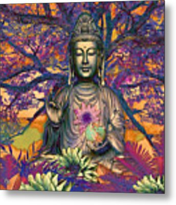 Healing Nature Metal Print by Christopher Beikmann