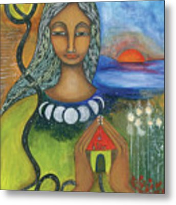 Home Is Where Your Heart Is Metal Print by Prerna Poojara