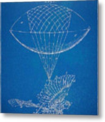 Icarus Airborn Patent Artwork Metal Print