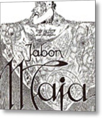 Jabon Metal Print by ReInVintaged