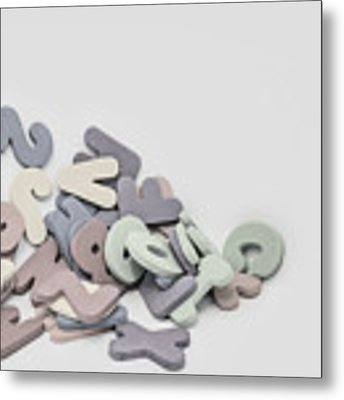 Jumbled Letters Metal Print by Scott Norris