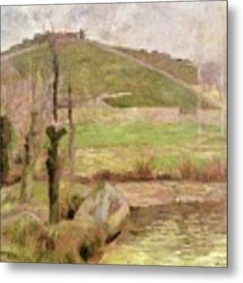Landscape Near Pont Aven Metal Print