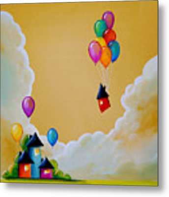 Life Of The Party Metal Print by Cindy Thornton
