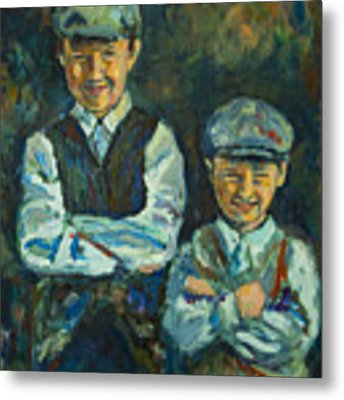Durham Boys Metal Print by Angelique Bowman