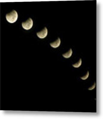 Lunar Eclipse Metal Print by Okan YILMAZ