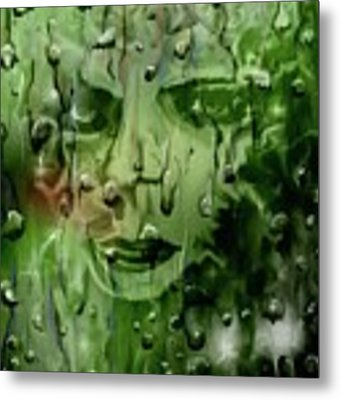 Memory In The Rain Metal Print by Darren Cannell