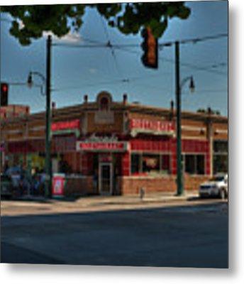 Memphis - Arcade Restaurant 001 Metal Print by Lance Vaughn