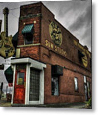 Memphis - Sun Studio 001 Metal Print by Lance Vaughn