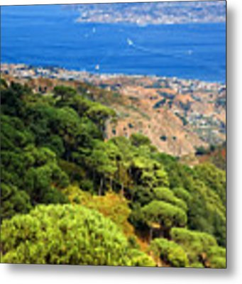Messina Strait - Italy Metal Print by Silvia Ganora