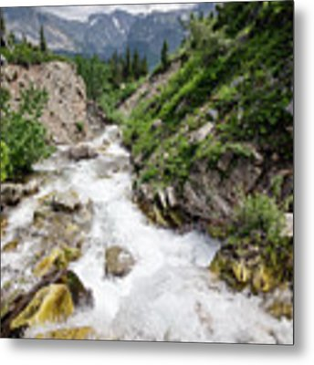 Mountain River Metal Print by Margaret Pitcher