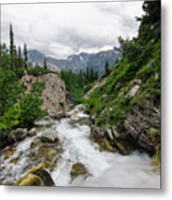 Mountain Vista Metal Print by Margaret Pitcher