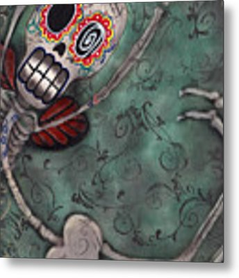 Muerte Fairy Metal Print by Abril Andrade Griffith