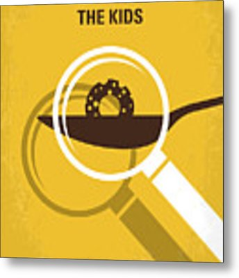 No641 My Honey I Shrunk The Kids Minimal Movie Poster Metal Print by Chungkong Art