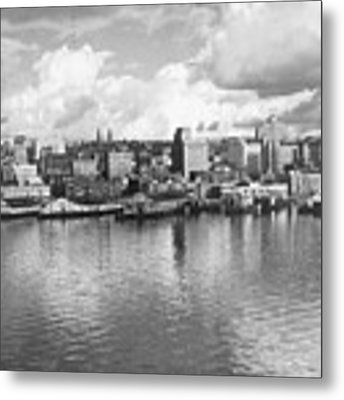 Old Seattle 1949 Metal Print by USACE-Public Domain