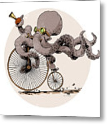 Otto's Sweet Ride Metal Print