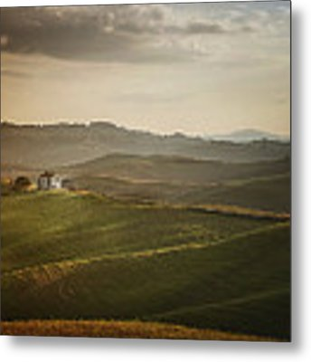 Over The Hills Metal Print by Antonio Longobardi