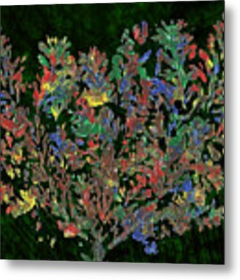 Painted Nature 2 Metal Print by Sami Tiainen