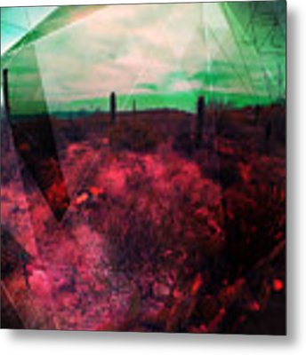 Passion In The Desert Metal Print by MB Dallocchio