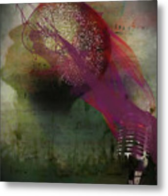 Pink Song Metal Print by Richard Ricci
