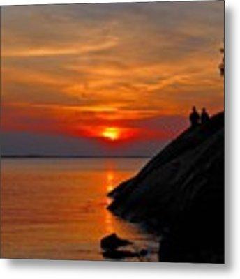 Plum Cove Sunset Metal Print by AnnaJanessa PhotoArt