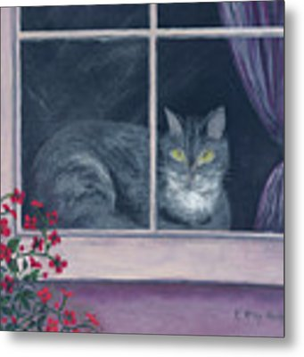 Room With A View Metal Print by Kathryn Riley Parker