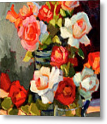 Roses From My Garden Metal Print